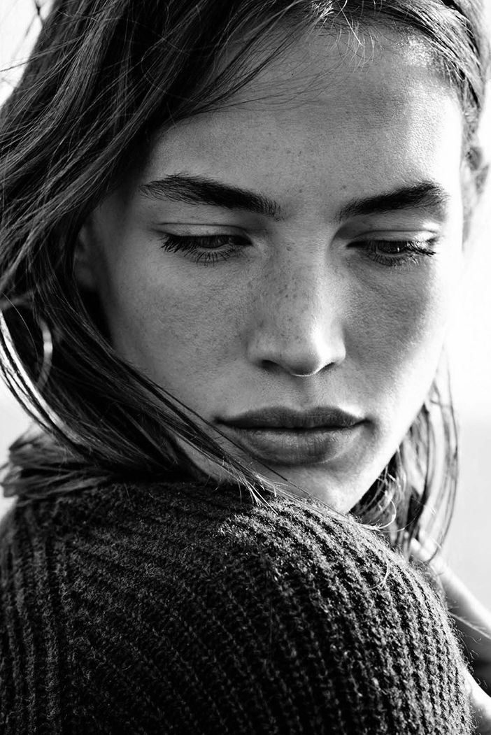"""Crista Cober in """"La vie sauvage"""" by Heather Favell for Glamour France, January 2015"""