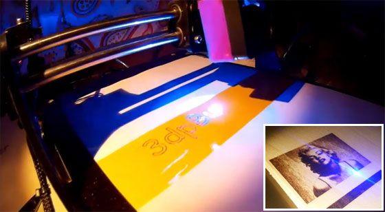 3DPBurner: Una grabadora láser casera Imprimible