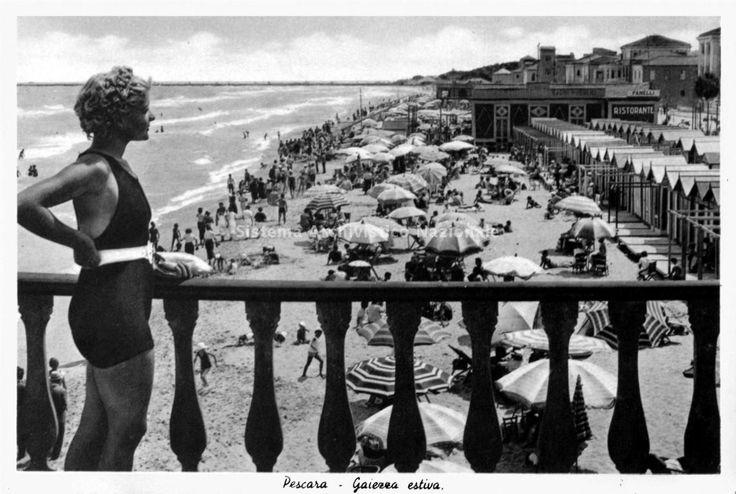 Il litorale, Pescara 1930