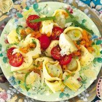 Tortellini-Artischocken-Salat: Artichokes, Food, Tortellini Artischocken Salat, Recipes Offer, Favorite Recipes, Tortelliniartischockensalat, Pin Recipes, Tortellini Salad