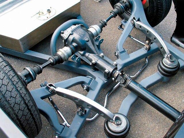 Crazy low rider suspension