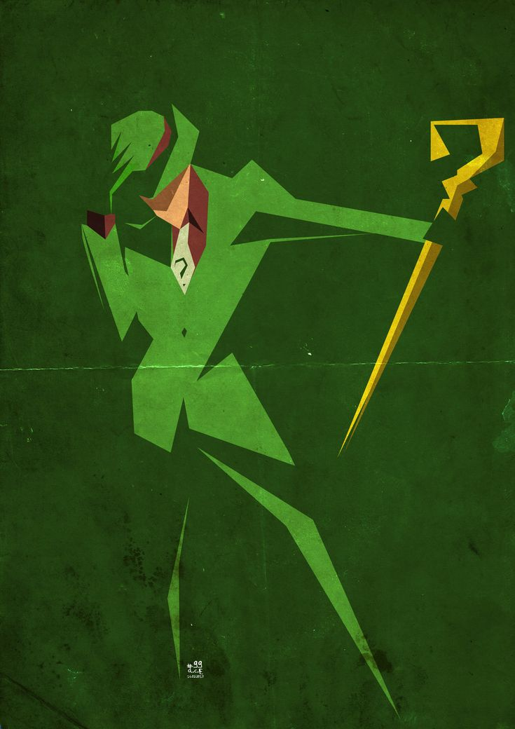 99 Riddler by ColourOnly85.deviantart.com on @deviantART