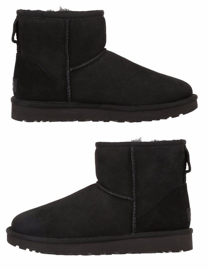 166d79866db09 NEW UGG Women s Classic Mini II Winter Boots Shoes Black Chestnut Grey Navy  Classic Mini II