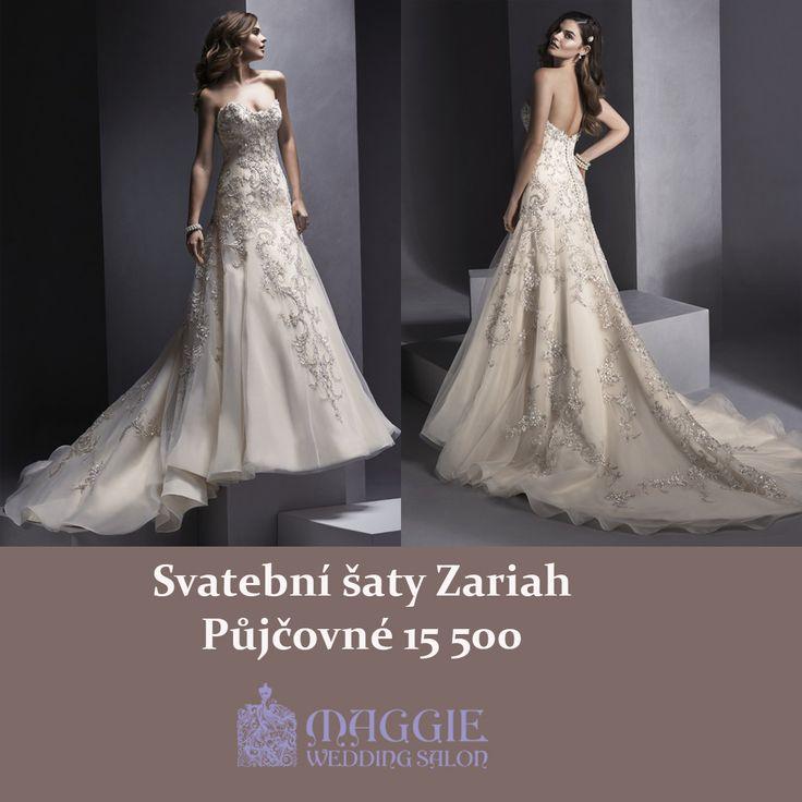 Svatební šaty Zariah www.1-svatebni-saty.cz