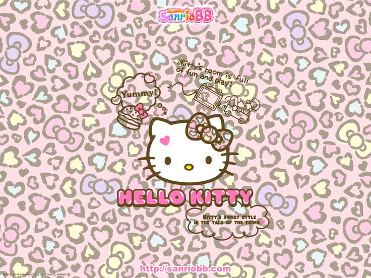 Hello Kitty Nerd Wallpaper | Hello Kitty Wallpaper From Sanrioshow The World Some Kawaii Love