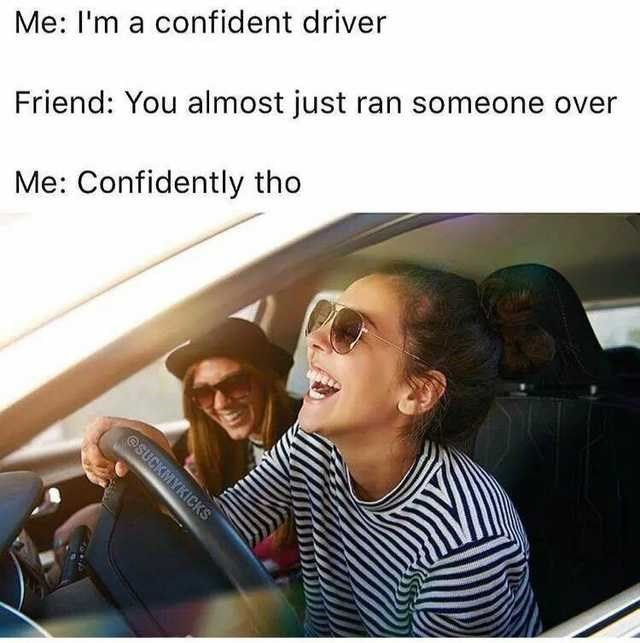 Driving Memes For Everyone With A Little Bit Of Road Rage Driving Memes Funny Meme Pictures Best Funny Pictures