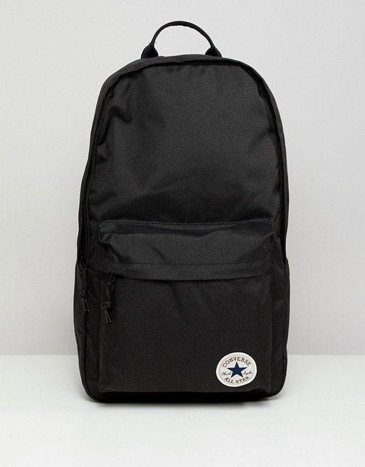 bffcbdbcc3b Converse Backpack In Black 10003329-A01 in 2019 | School | Converse ...