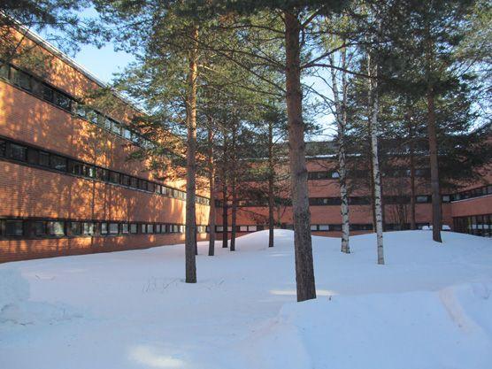UEF - Joensuu campus, winter