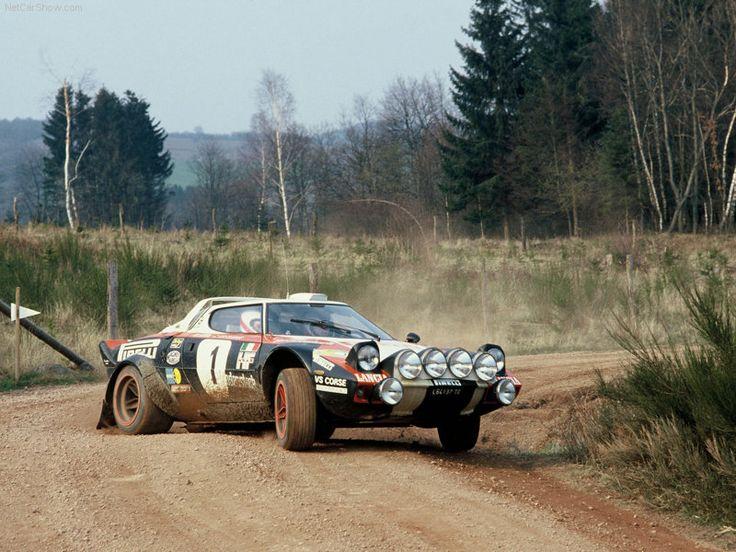 1972 Lancia Stratos Rally