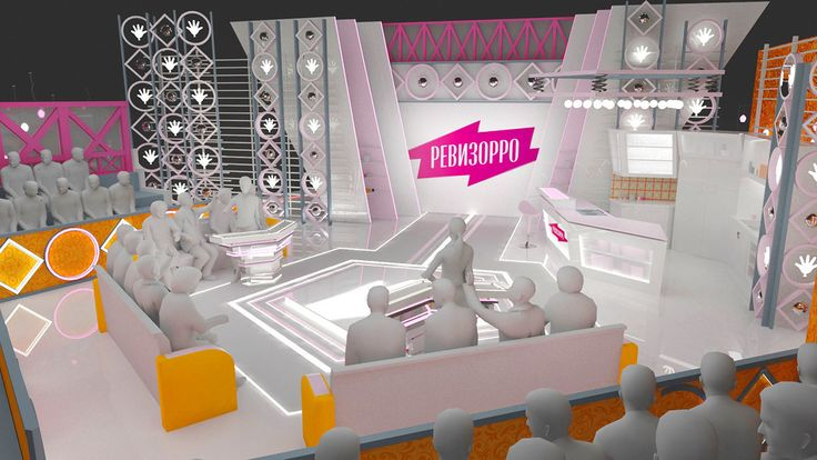 "This project of talk-show ""REVIZORRO-SHOW"" created for russian TV channel."