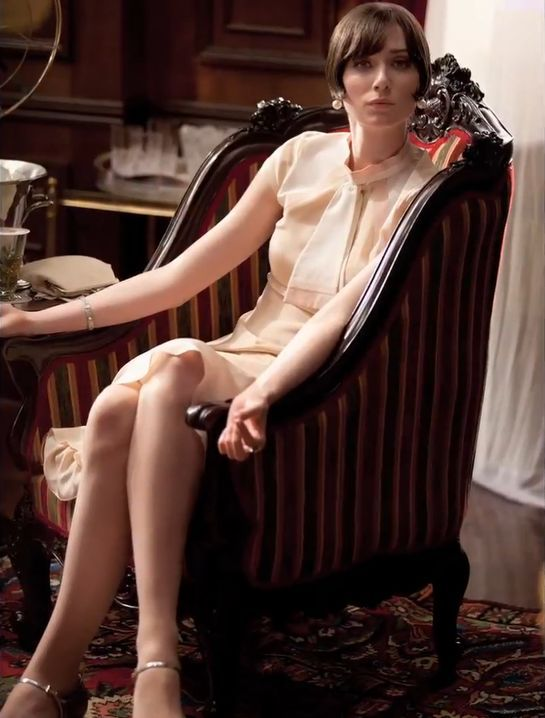 "Elizabeth Debicki as Jordan Baker for Baz Luhrmann's ""The Great Gatsby"" - 004 - 02."
