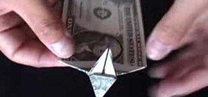 How to Origami a dollar bill dog « Origami