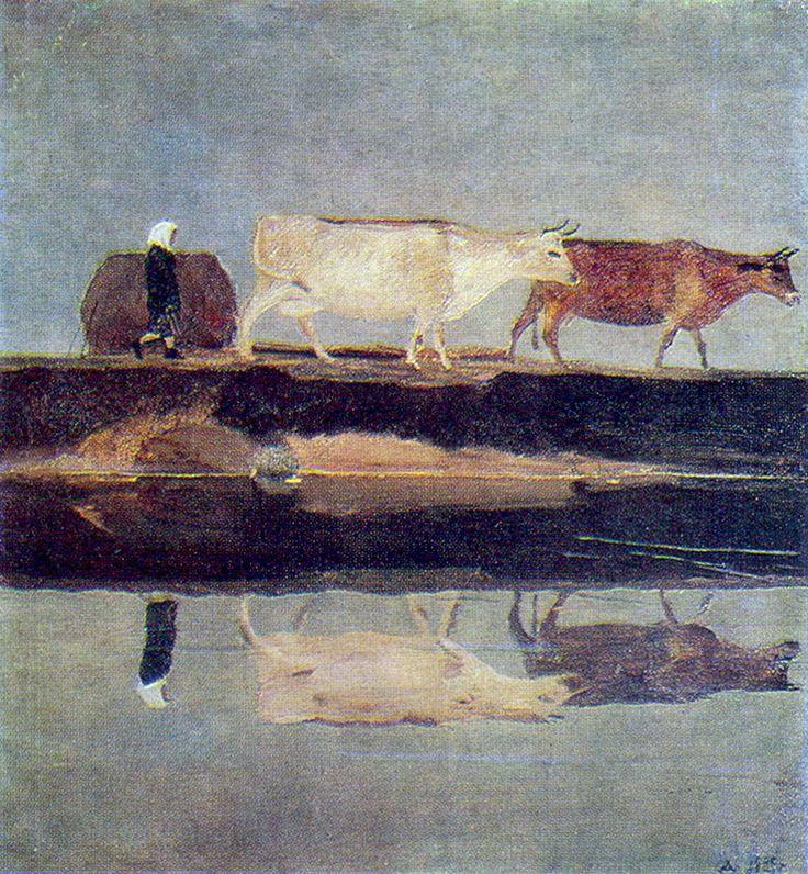Aleksandr Deineka - Landscape, 1929