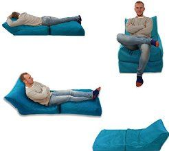 Beanbag Bed Chair Teal Aqua Blue Indoor And Outdoor Extra Large Gaming Seat XXXL Weather Resistant (Waterproof)