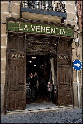 La Venencia Madrid bar- Madrid tapas