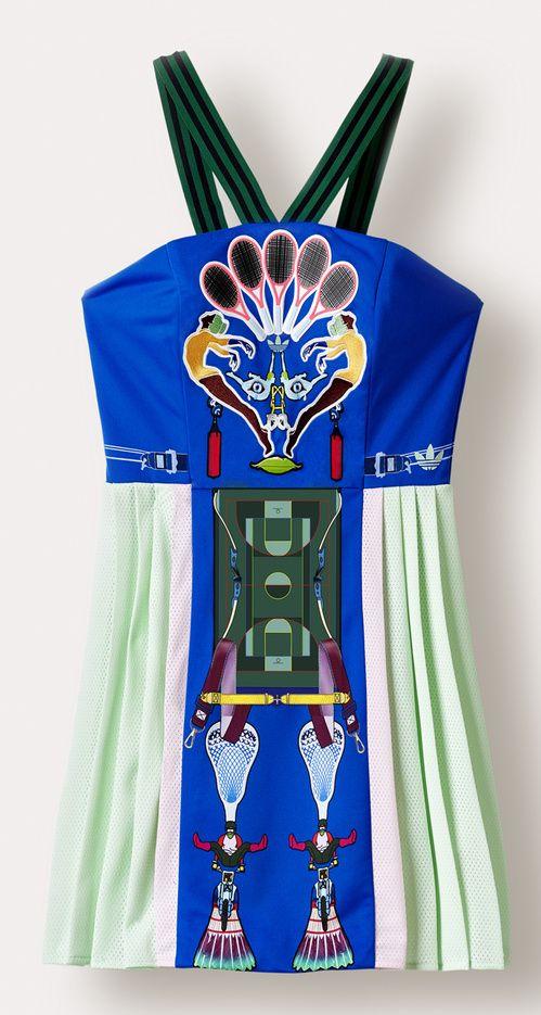 Le vestiaire sportswear de Mary Katrantzou x adidas Originals   Vogue