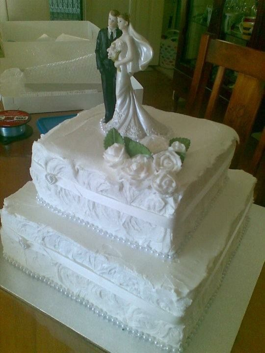 Wedding Cake - Kerrie and Steve (this is where it all got serious)