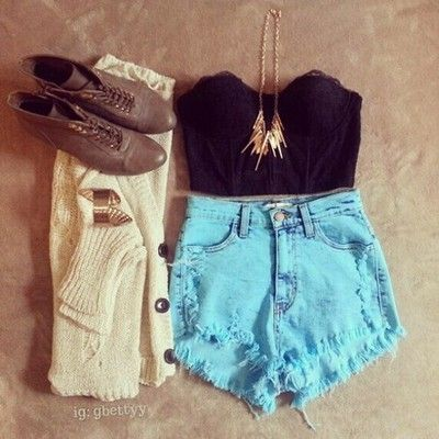 Teen fashion tumblr #teenfashion #teen #fashion #shorts # ...