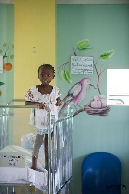 chaque enfant a le droit d'être en bonne santé