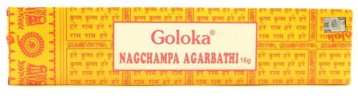 Goloka Nag Champa Incense 16 gm, 40 gm, 100gm or 250 gm
