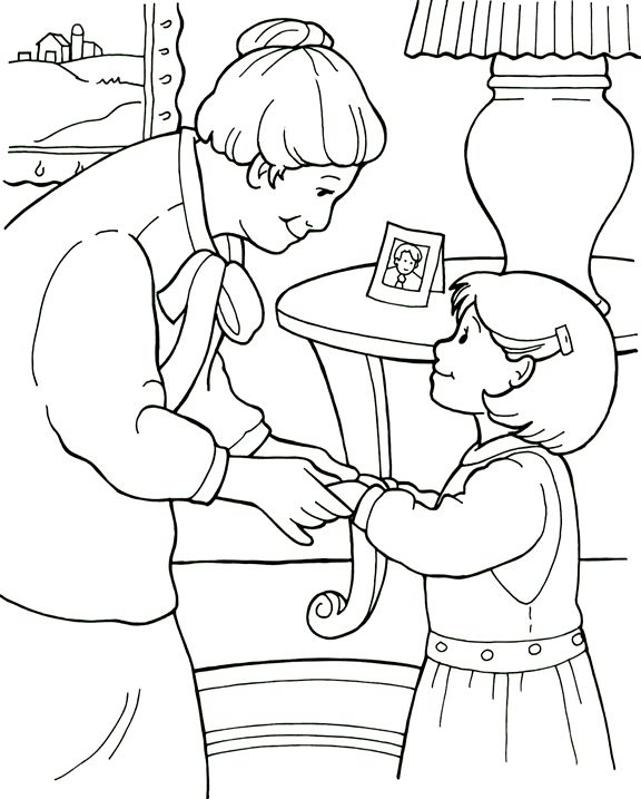Be A Friend Coloring Page