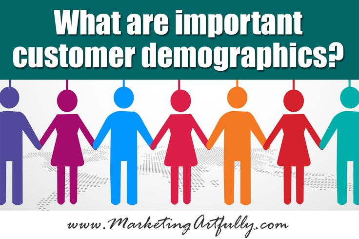 """When you are a small business owner, answering the question of what are important customer demographic can make or break your marketing efforts. updatedSeptember 2015 Customer Demographics are defined by Wikipedia as including """"gender, race, age, income, disabilities, mobility (in terms of travel time to work or number of vehicles available), educational attainment, home ownership,...Read More »"""