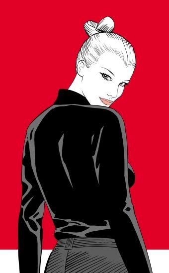 Hi, I'm Eva Kant - quadro 80x130 - 245€