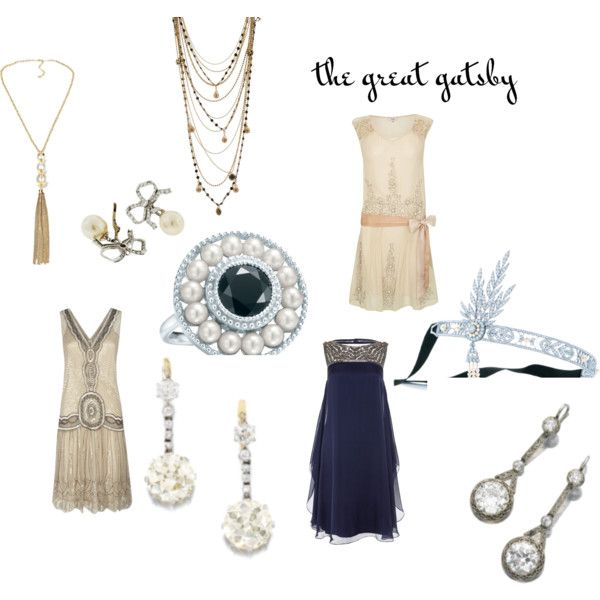 The Recessionistas Great Gatsby style by therecessionista on Polyvore