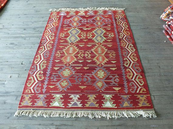 Kilim Rug/Vintage Turkish Kilim Rug/Antique Turkish Kilim/Turkish Kilim Rug/Red Kilim Rug/Handwoven Kilim Rug/Small Kilim Rug/Kitchen Kilim#art #beauty #beautiful #decor #etsy #forsale #gifts #home #homedecor #vintage #kilim #vintagestyle #kilimrug #kilimrunner #handmade #handwoven #rugs #follow #followback #follow4follow