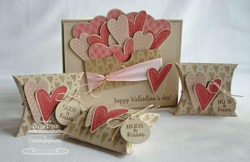 Valentine's Day goodies by Julie Dinn