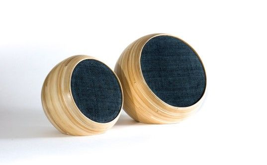 The Hazang Bamboo Bluetooth Speakers were handmade by master craftsmen using traditional techniques in North Vietnam.
