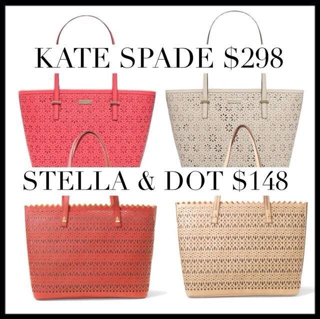 Style for a steal! The Stella & Dot Avalon tote is perfection! Come in blush or geranium (coral). Must have!