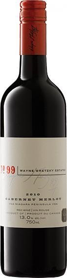 Wayne Gretzky Cabernet Merlot. I was very skeptical about buying wine named after a hockey player. However, this is one of the better wines that I tried in 2012--and I tried a lot of wine! Delicious for sipping on its own, or with food. Stands up surprisingly well to spicy tomato-based curries.
