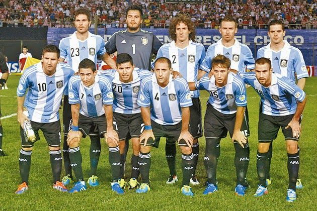 Argentina Squad Players List for FIFA WORLD CUP 2014, Argentina Football Team