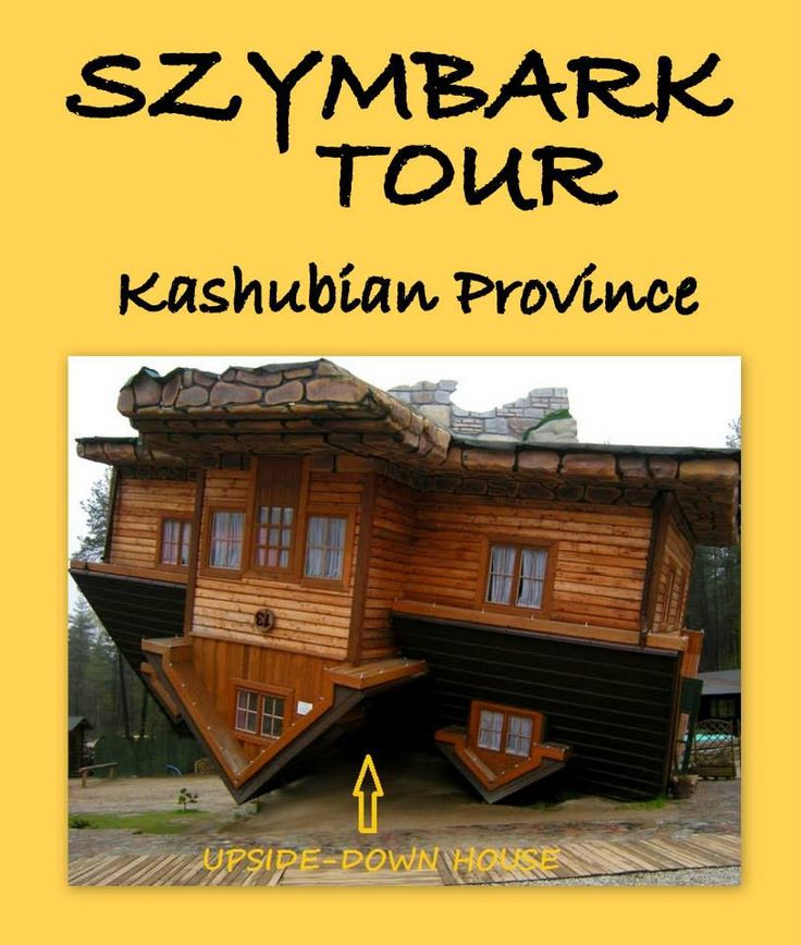 See the upside-down house and learn about Kashubian culture.
