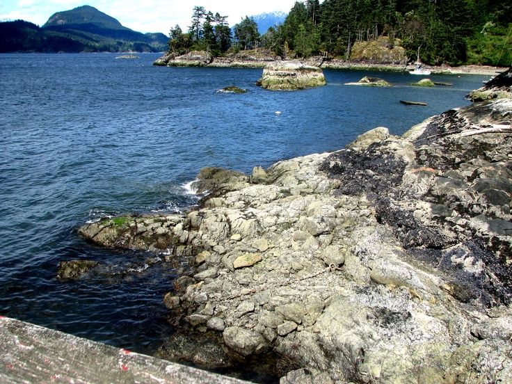 Hood Point, Bowen Island, BC, CA