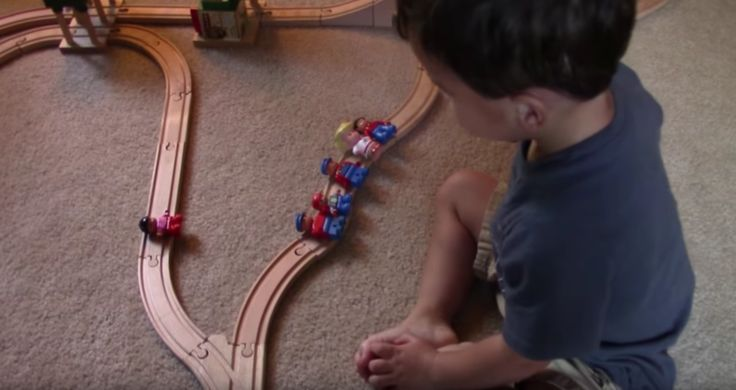 A two-year-old offers a creative (but non-ideal) solution to The Trolley Problem