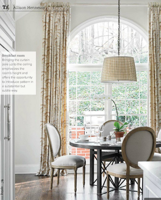 Casual Dining Room Curtains 157 best dining rooms images on pinterest | dining room design