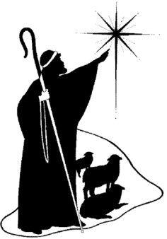 Religious Silhouette Clip Art | NON-TRANSPARENT CHRISTIAN CLIP ART