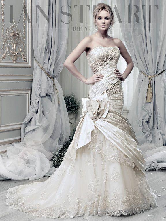 Elegant Lady Luke Collections Of Ian Stuart Bridal Dresses Be Modish Wedding Dress Store Luxe Wedding Dress Wedding Dresses London