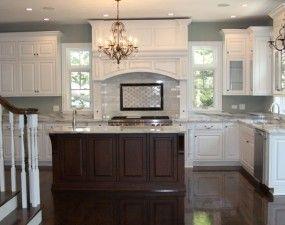 Off White Kitchen Cabinets Dark Floors 80 best kuchnie images on pinterest | kitchen, kitchen ideas and home