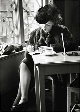Solitary coffee by Kurt HUTTON