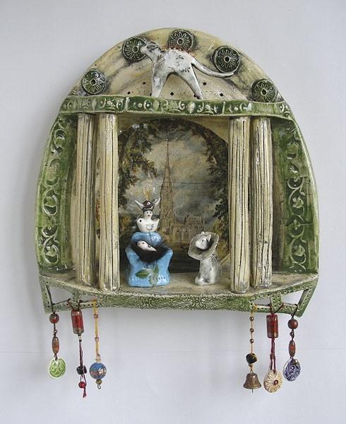 One of Kirsty Gardiners amazing ceramics