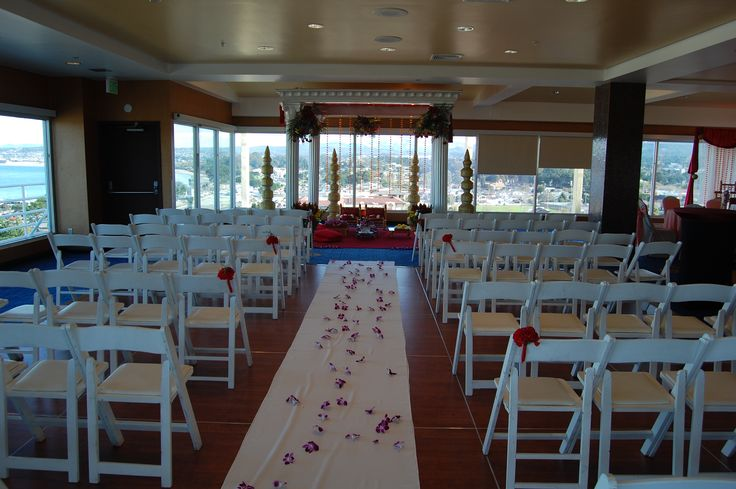 Square wedding mandap