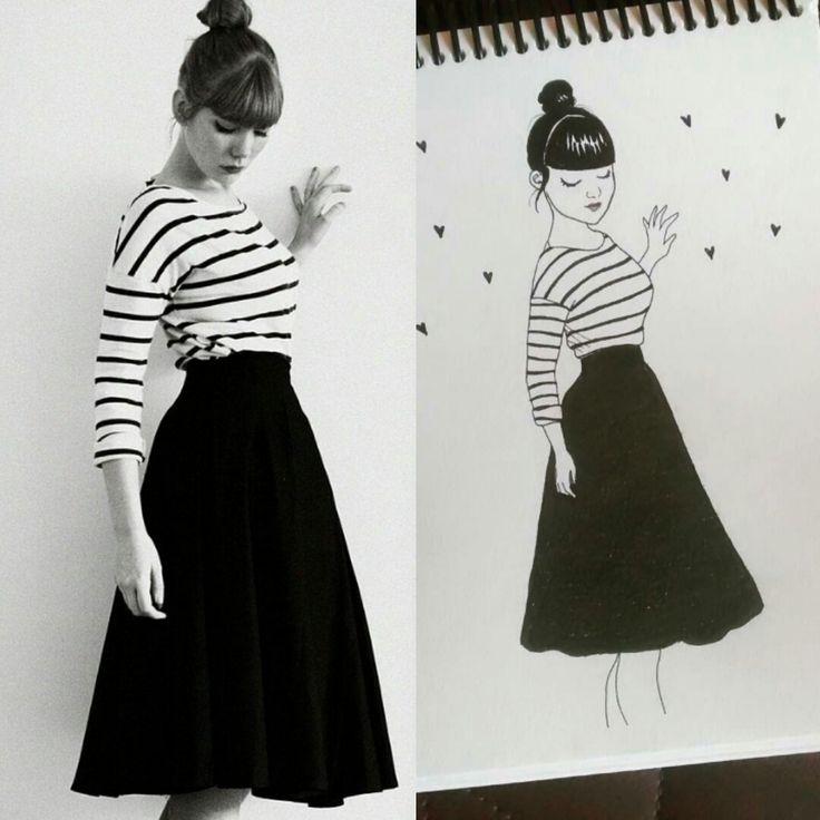 #art #sketch #sketchbook #doodle #doodling #doll #girl #girlillustration #artist #dessin #desenho #dibujo #diseño #conception #cute #style #ilustração #rabisco #rascunho #vintage #retro #pinup #bonequinha #menina #desenhodemenina #desenhofofo #draw #drawing #characterdesign #dailyartwork #rabisco #rascunho