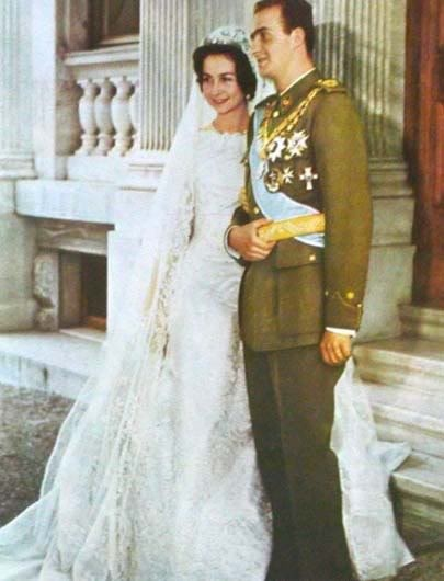 Princess Sophie/Sofia of Greece + Denmark & the future King Juan Carlos I of Spain :: May 14, 1962