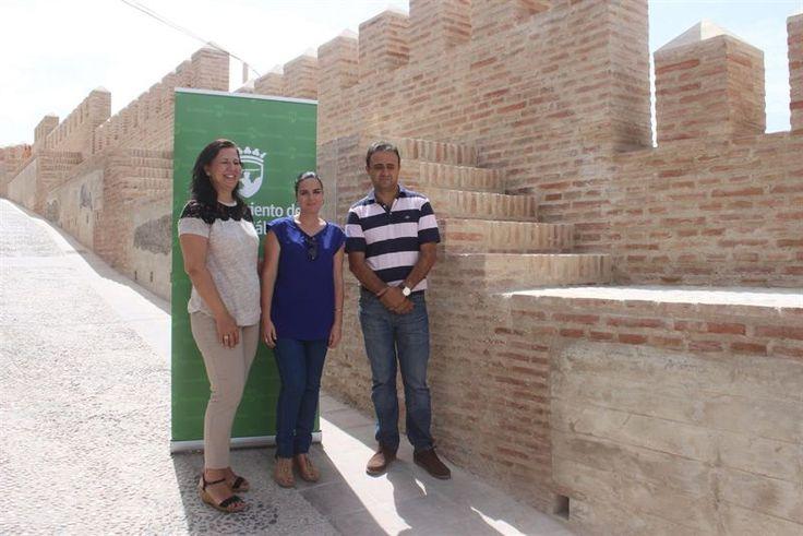 Restauració d'un tram de la muralla àrab de Vélez-Málaga