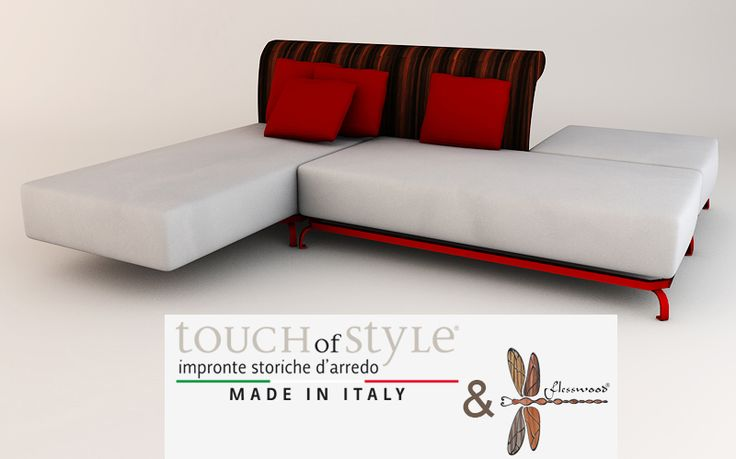 Flesswood® Sofa made by Touch of Style
