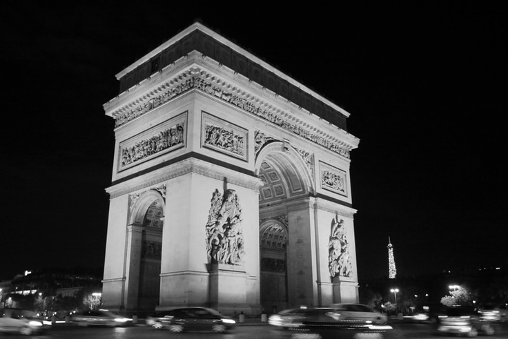 Arc de Triomphe, Paris...driving around that circle is soo scary