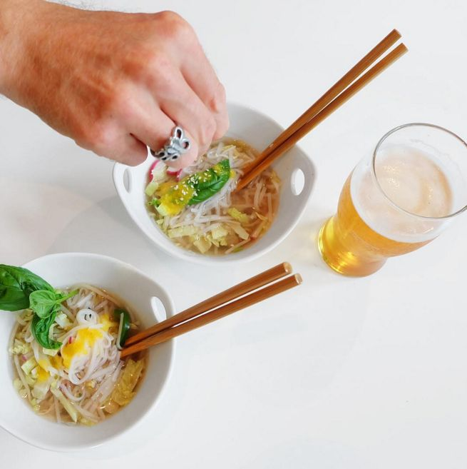 Cozy Sunday night is perfect for Take Out Pho. With Pineapple Habanero #HotSauce of course! We now deliver to your door. #JonnyHetheringtonEssentials #hotsauce #habanerosauce #habanero #pineapple #spicy #hot #SpicyPairing #GetSpicy #ArtOfDining #Vancouver #cooking #chef #food #foodporn #pho #takeout #delivery #warm #soup #beer #picoftheday #meal #heat #foodstagram #foodphotography #foodstyling #instafood